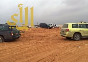 """""""مدني الرياض"""" يخرج 72 مركبة و 85 شخصاً جراء الأمطار"""