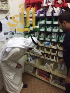 مدير عام الهلال الأحمر بالباحة يتفقد عدة مراكز إسعافية بالمنطقة