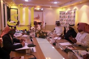 اللجنة الاعلامية لجائزة ابها تعقد اجتماعها الرابع