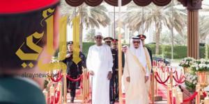 خادم الحرمين يستقبل رئيس جمهورية تشاد