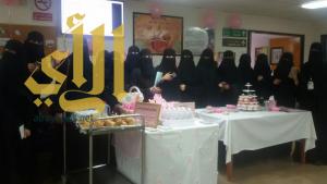 الفريق التطوعي بجامعه الملك خالد بسراة عبيدة يزور مستشفي المحافظة