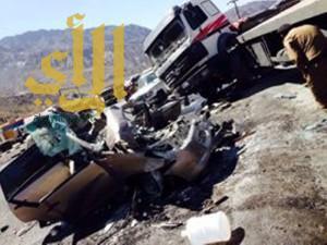 3 وفيات واصابة بليغة  في حادث مروري بشعار