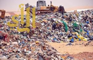 رفع أكثر من 393 ألف طناً من النفايات بأحياء تبوك