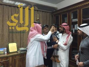 محافظ  النماص يدشن حملة التطعيم ضد شلل الأطفال