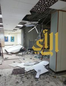 انتشال جثة جراء انهيار سور في إحدى جامعات جدة