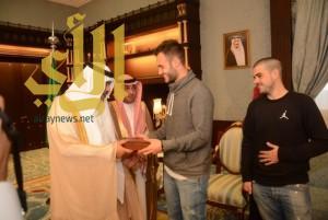 أمير منطقة الباحة يستقبل القنصل العام لجمهورية المانيا