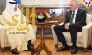 الرئيس الصربي يستقبل الأمير سلطان بن سلمان