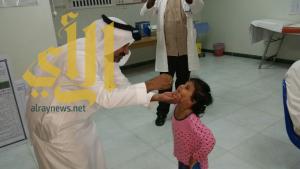 وكيل محافظة بارق يدشن حملة التطعيم في محافظة بارق