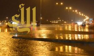 توقعات باستمرار الأمطار على عدد من مناطق المملكة