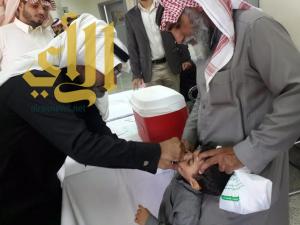 وكيل محافظة احد رفيدة يدشن حمله شلل الاطفال