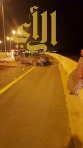الباحة تشهد عدة حوادث مرورية بإصابات بسيطة الى متوسطة