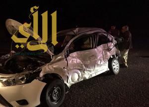 6 وفيات و8 إصابات حرجة إثر حوادث متفرقة في تبوك