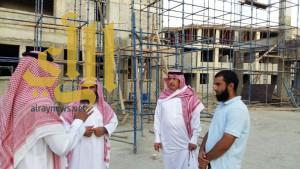 مدير الشؤون الإسلامية بعسير يتفقد أوقاف تنومة والنماص