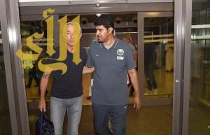 """بعثة المنتخب تصل الرياض.. ومارفيك يحضر """"ديربي جدة"""""""