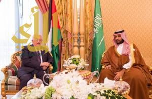 ولي ولي العهد يلتقي أمير قطر ورئيس فلسطين ونائب رئيسة الأرجنتين