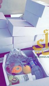 """""""فطوري سر صحتي"""" فعالية توعوية لطالبات جامعة الطائف"""