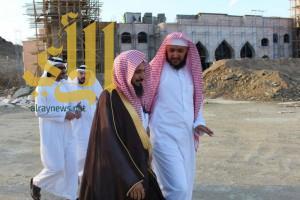 مدير الشؤون الإسلامية بالباحة يزور جامع نخال والمكتب الدعوي