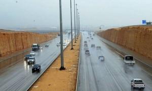 أمطار غزيرة على حائل والقصيم والأجزاء الشمالية والغربية للرياض