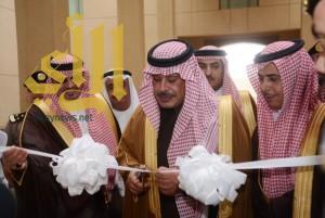 أمير الباحة يفتتح مبنى مكافحة المخدرات الجديد بالمنطقة