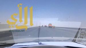 """وزارة النقل تفتتح جسر """"المعيزيلة"""" باتجاه الشرق"""
