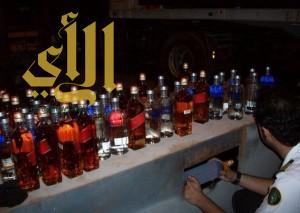 306 زجاجات خمر في قبضة جمرك سلوى