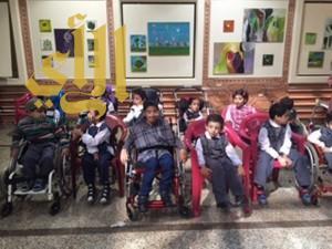 """التنمية الاجتماعية تزور """"أطفال الاحتياجات الخاصة """" بعسير"""