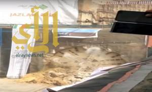 إنقاذ امرأة حاولت الانتحار برمي نفسها من مبنى في جدة