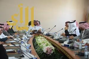 """وكيل إمارة الباحة يرأس الإجتماع التحضيري لمشاركة المنطقة في """" الجنادرية """""""
