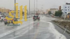 هطول أمطار متوسطة إلى غزيرة مصحوبة برياح نشطة على المملكة