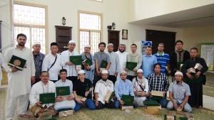 """تكريم 80 مسلما من جنسيات مختلفة يجتازون برنامج """"تبصرة"""" التعليمي"""