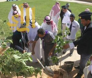رواد كشافة المجمعة يختتمون فعاليات مشروع نظافة البيئة وحمايتها