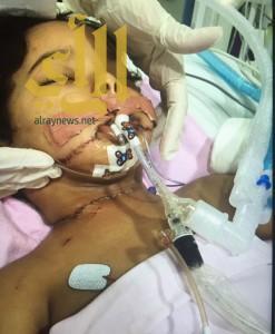 بالصور .. جريمة بشعة.. خادمة اثيوبية تطعن طفلاً 8 طعنات بالرياض