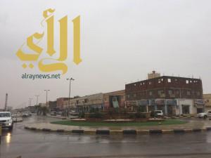 """أمطار """"الديم"""" على طبرجل"""