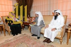 أمير عسير يستقبل رئيس مجلس إدارة الجمعية السعودية للسمنة