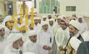 وفد من الشرقية والمدينة يعزون ذوي شهداء مسجد المشهد في نجران