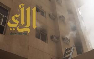 حريق يخلي سكن الجامعة الإسلامية وإصابة 4 طلاب