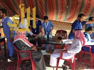 الندوة العالمية للشباب الاسلامي تنفذ برنامجاً صحياً تطوعياً بمحافظة طريب
