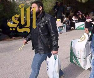 الحملة السعودية توزع 13 ألف قطعة شتوية على اللاجئين السوريين بعجلون