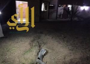استشهاد مواطنة وطفل في نجران إثر سقوط قذيفة عسكرية من داخل الأراضي اليمنية