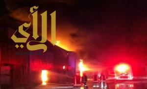 مدني الرياض يباشر حريقا في حي الفيصلية