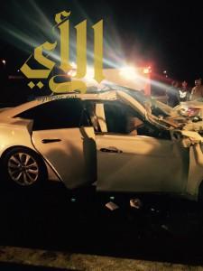 مصرع شاب وإصابة 5 آخرين بحادثين منفصلين بمنطقة الباحة