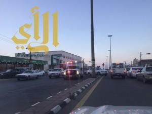 الباحة تشهد اليوم حوادث وصفت مابين المتوسطة والخطيرة