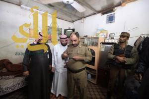 شرطة منطقة الجوف تقوم بحملة أمنية مشتركة بمدينة سكاكا وتضبط 23 مخالفا