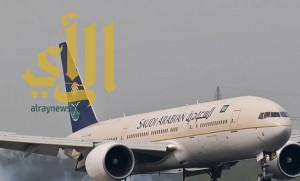 الخطوط السعودية تتسلم طائرتين طراز بوينج