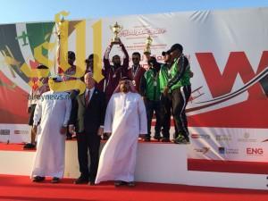 ميداليتان برونزيتان لأخضر الباراموتر في الخليجية