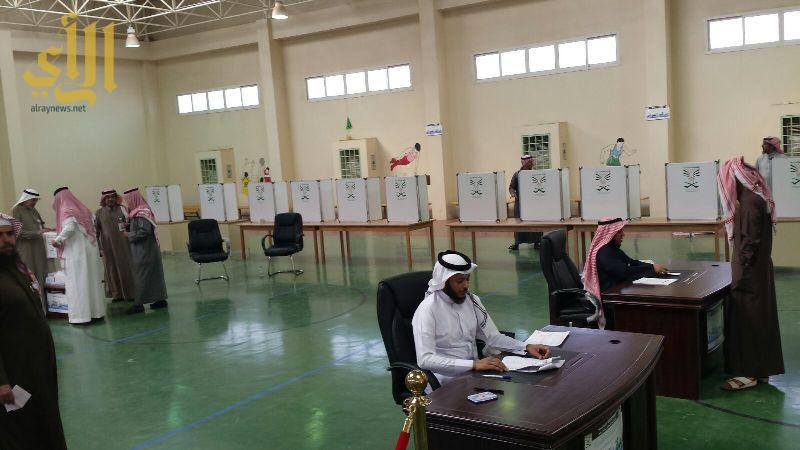 قاعة اقتراع