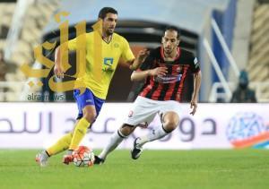 الرائد يتعادل مع النصر في الدوري السعودي للمحترفين