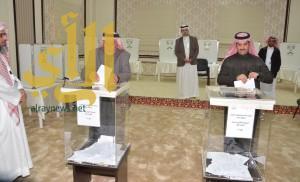 202 مركزاً انتخابياً في منطقة عسير تستقبل الناخبين والناخبات