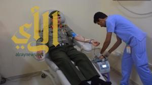 حملة للتبرع بالدم بجوازات جازان