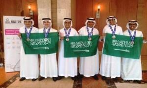 الطلاب السعوديون يحصدون 6 ميداليات من أولمبياد الناشئين في كوريا